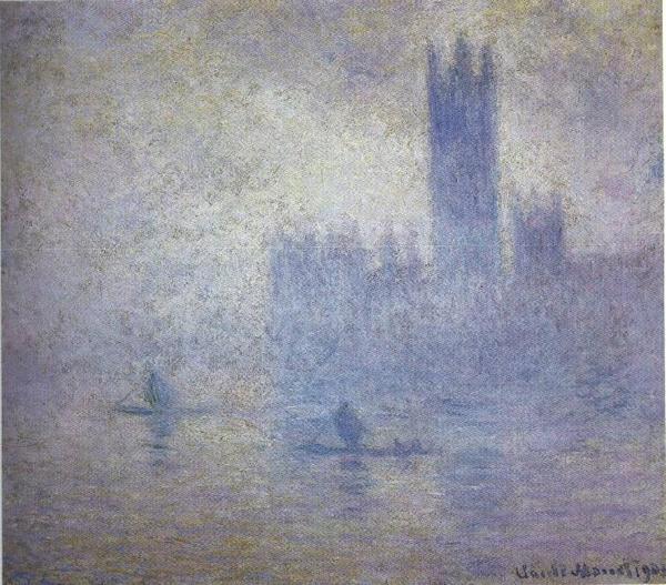 Monet - Le Parlement, effet de brouillard - 1904